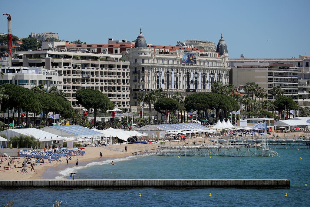 . CANNES, FRANCE - MAY 19:  A general view across Cannes during the Cannes Film Festival on May 19, 2017 in Cannes, France. Celebrities, fans and the movie world have descended on Cannes for this year\'s festival of the screen. For seventy years The Croisette Boulevard has always been the centre of athe place watch the rich and dandy and people from all walks of life to promenade.  (Photo by Christopher Furlong/Getty Images)