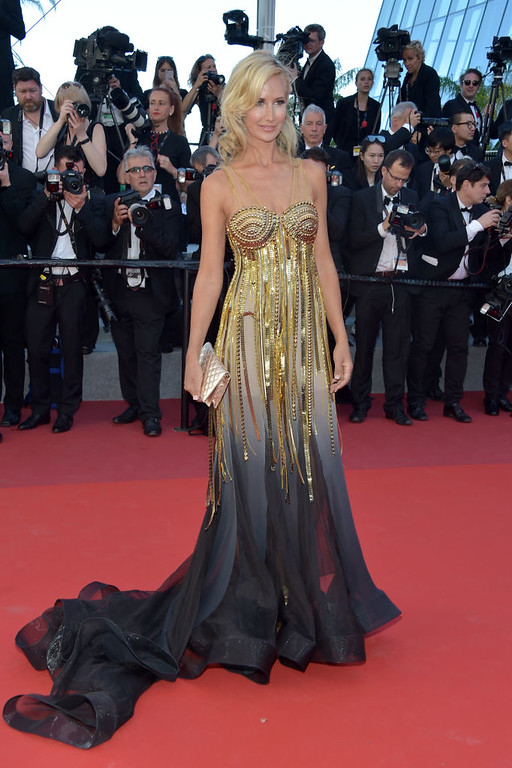 ". CANNES, FRANCE - MAY 19:  Lady Victoria Hervey attends the ""Okja\"" screening during the 70th annual Cannes Film Festival at Palais des Festivals on May 19, 2017 in Cannes, France.  (Photo by Pascal Le Segretain/Getty Images)"