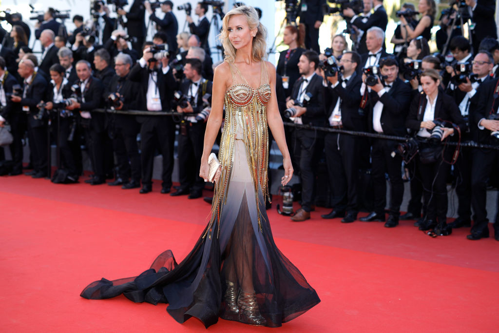 ". CANNES, FRANCE - MAY 19:  Lady Victoria Hervey attends the ""Okja\"" screening during the 70th annual Cannes Film Festival at Palais des Festivals on May 19, 2017 in Cannes, France.  (Photo by Andreas Rentz/Getty Images)"