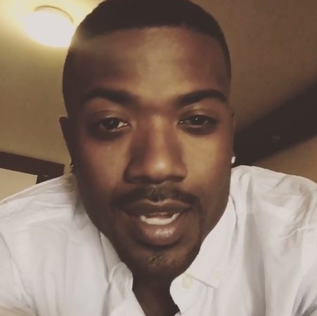 . Singer and actor Ray J took to Instagram Tuesday, Aug. 30, 2016, to defend Chris Brown as Los Angeles police surrounded Brown\'s Tarzana home after a woman\'s complaint drew officers up Corbin Avenue. Ray J was at Brown\'s home at one point but left in the morning. (Image from Instagram)