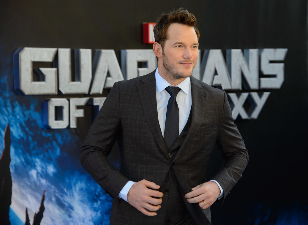 . Chris Pratt arrives for the European Premiere of Guardians Of The Galaxy at a central London cinema, Thursday, July 24, 2014. (Photo by Jonathan Short/Invision/AP)