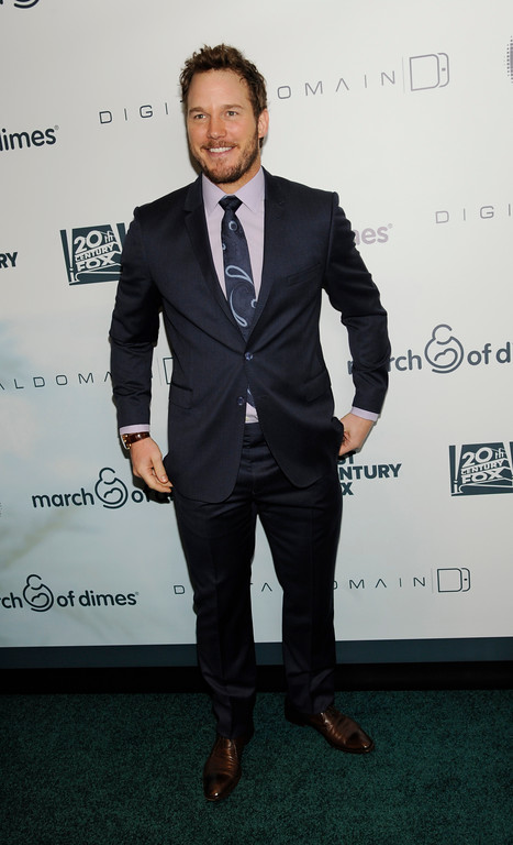 . Actor Chris Pratt poses at the 2014 March of Dimes Celebration of Babies at the Beverly Wilshire Hotel on Friday, Dec. 5, 2014, in Beverly Hills, Calif. (Photo by Chris Pizzello/Invision/AP)