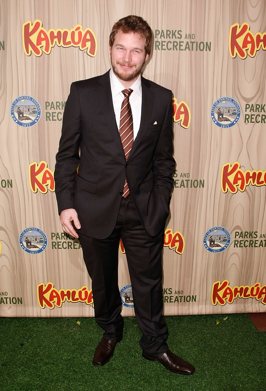 ". LOS ANGELES, CA - APRIL 09:  Actor Chris Pratt arrives at the premiere of NBC\'s ""Parks & Recreation\"" at My House on April 9, 2009 in Los Angeles, California.  (Photo by Michael Buckner/Getty Images)"