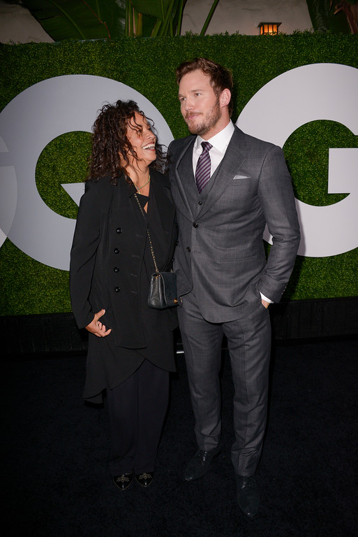 . Actor and honoree Chris Pratt, right, and actress Rae Dawn Chong attend the 2014 GQ Men of the Year Party at Chateau Marmont in Los Angeles on Thursday, Dec. 4, 2014. (Photo by Dan Steinberg/Invision/AP Images)