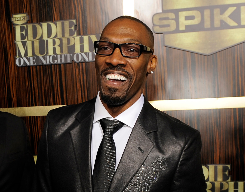 ". FILE- In this Nov. 3, 2012 file photo, comedian Charlie Murphy appears at ""Eddie Murphy: One Night Only,\"" a celebration of Murphy\'s career in Beverly Hills, Calif. Murphy, older brother of actor-comedian Eddie Murphy, died Wednesday, April 12, 2017 of leukemia in New York. He was 57.  (Photo by Chris Pizzello/Invision/AP, File)"