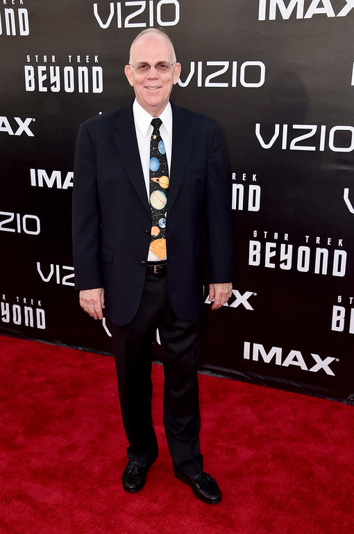 """. SAN DIEGO, CA - JULY 20:  Conductor Richard Kaufman attends the premiere of Paramount Pictures\' \""""Star Trek Beyond\"""" at Embarcadero Marina Park South on July 20, 2016 in San Diego, California.  (Photo by Alberto E. Rodriguez/Getty Images)"""