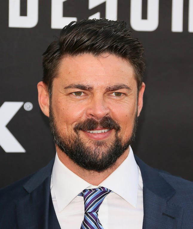 """. Karl Urban attends the world premiere of \""""Star Trek Beyond\""""  in San Diego, California, on July 20, 2016. / AFP / JEAN BAPTISTE LACROIX        (Photo credit should read JEAN BAPTISTE LACROIX/AFP/Getty Images)"""