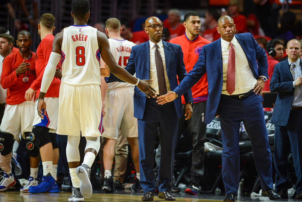 . <b>14. Doc Rivers, 54, Clippers Head Coach and President of Basketball Operations </b> <br>Rivers, who has as much name recognition as any coach in L.A., held the Clippers franchise together through owner Donald Sterling�s ugly exit ...   (Photo by David Crane/Southern California News Group)