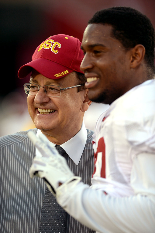 . <b>34. Dr. Max Nikias, 63, USC President</b> <br>Dr. Nikias, who approves all coaching hires at USC and was responsible for replacing Pat Haden with new athletic director Lynn Swann, has made obvious his interest in improving USC athletics during his six-year tenure ... (Andy Holzman/Los Angeles Daily News)