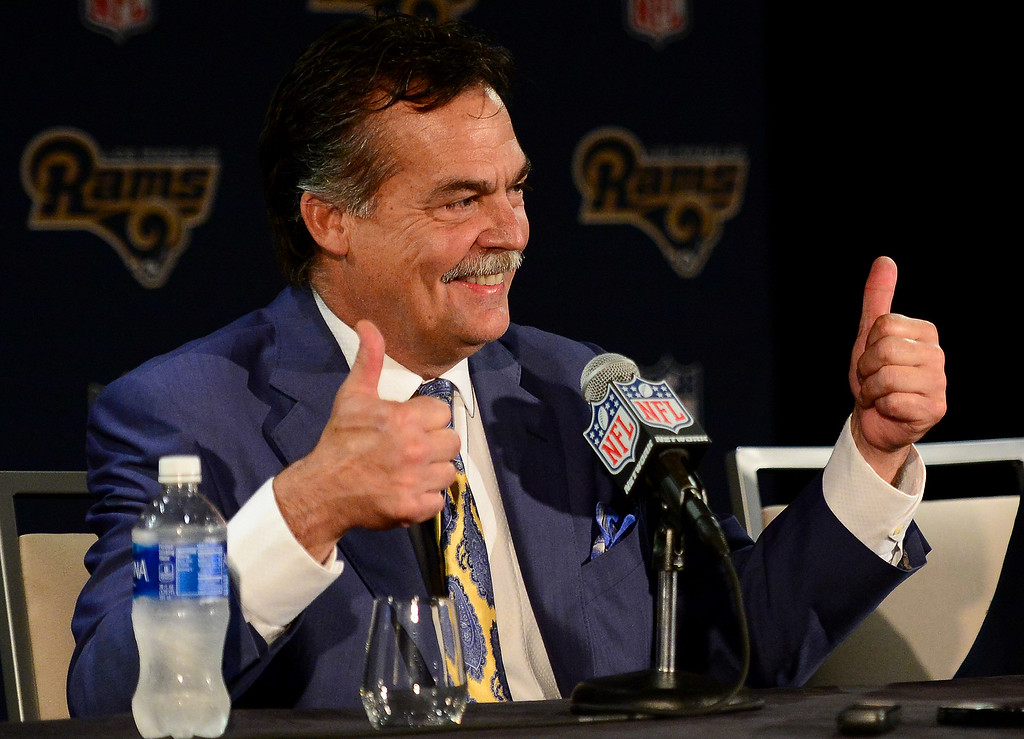 . <b>17. Jeff Fisher, 58, Rams Head Coach </b> <br>Fisher�s reception in L.A. is aided by his status as a USC graduate - and a member of the Trojans� 1978 national championship team - but he was already an established NFL head coach with 21 years of experience and a Super Bowl appearance to his name ... (Photo by Keith Birmingham Pasadena Star-News)
