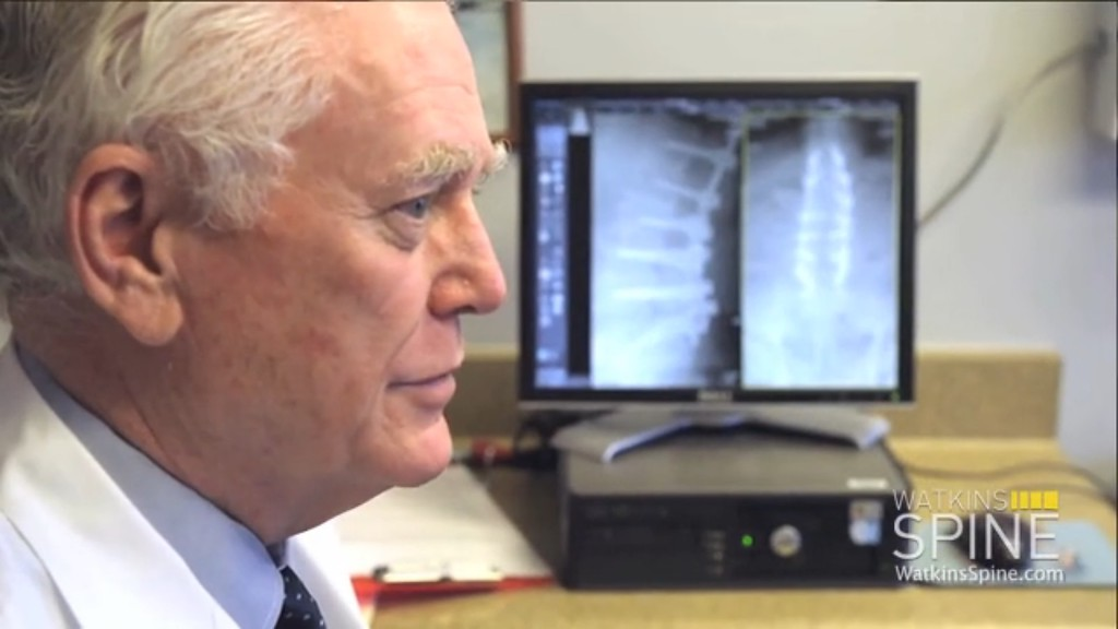. ... His clients include Peyton Manning, Wayne Gretzky, David Wright and Rob Gronkowski. The microdiscectomy surgery the Dodgers, Kings and USC consultant performs on most of his sports clients provides relief for herniated discs. (Photo credit: watkinsspine.com)