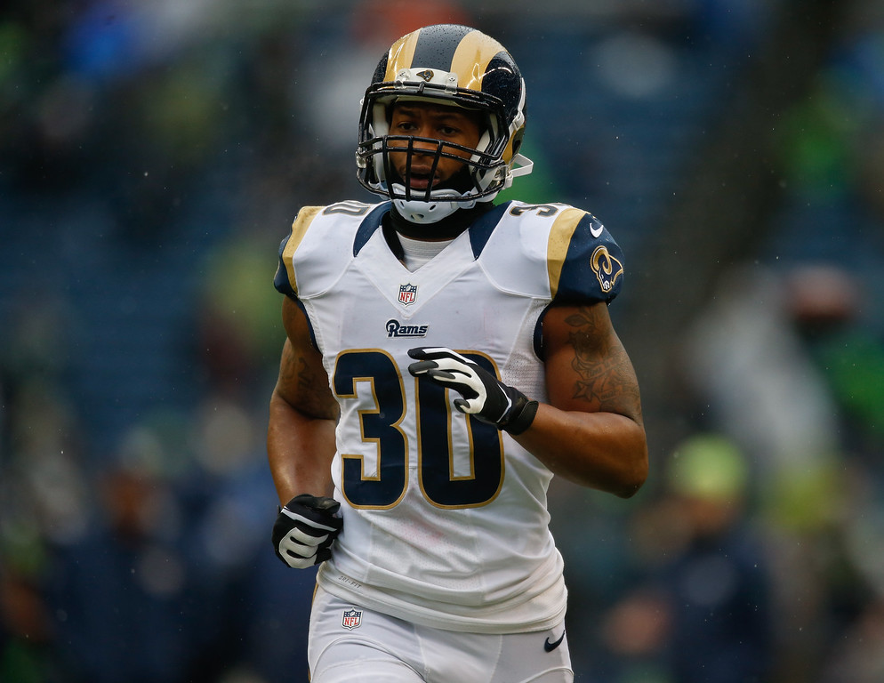 . <b>45. Todd Gurley, 21, Rams running back  </b> <br>Gurley didn�t even play a full season last year after tearing his ACL in his final season at Georgia, but the limited workload didn�t stop him from earning NFL Offensive Rookie of the Year honors ... (Photo by Otto Greule Jr/Getty Images)