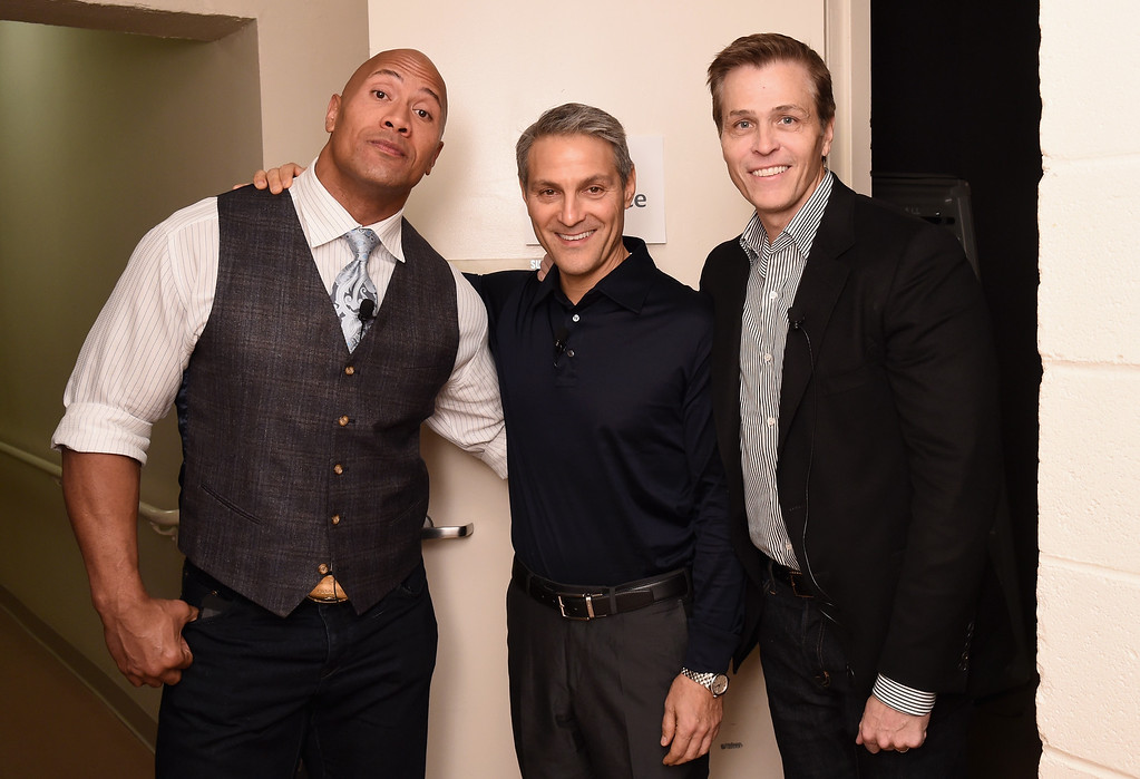 . <b>10. Ari Emanuel and Patrick Whitesell, 55 and 51, WME|IMG Co-CEOs  </b> <br>The heavyweight Hollywood talent agents plunged into the sports game when William Morris Endeavor acquired sports-entertainment-marketing giant IMG in December of 2013, inheriting a client roster that includes Cam Newton, Alex Ovechkin, Novak Djokovic and Lindsay Vonn, among many others ... (Photo by Ilya S. Savenok/Getty Images for Fast Company)
