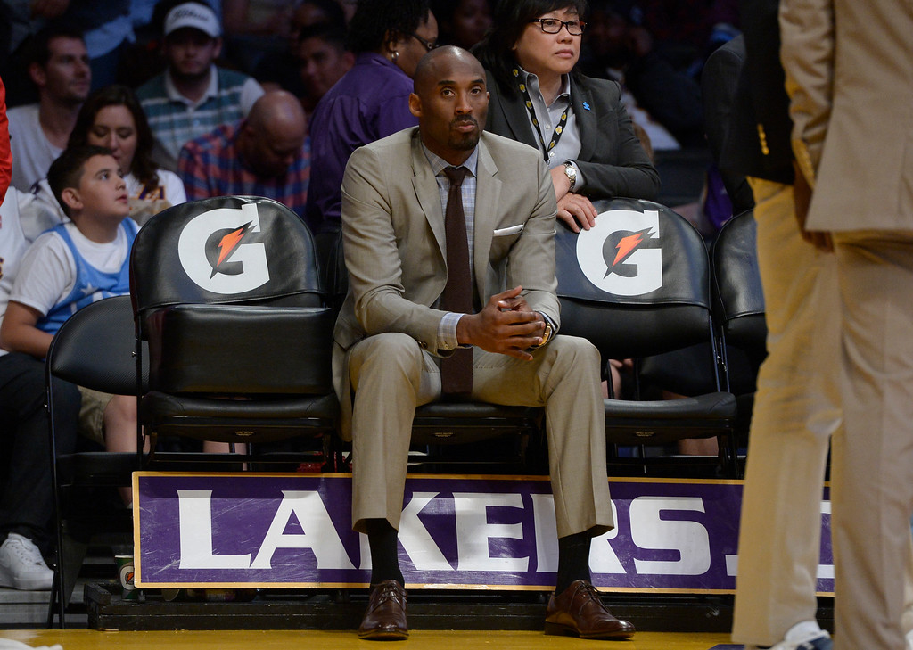 . ... How his relentless ambition will translate to his post-basketball storytelling career at Kobe Inc., remains to be seen, but $680 million in career earnings won�t hurt its potential. (Photo by John McCoy / Los Angeles Daily News)