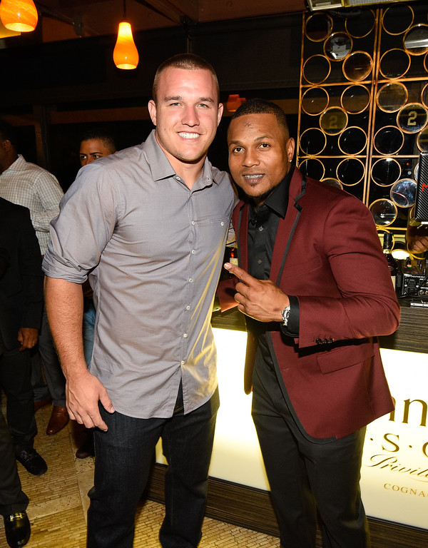 . ... Trout�s talent provides him the stage to affect far more than just sports and the New Jersey native is a popular pick to succeed Derek Jeter as the face of baseball. (Photo by Noel Vasquez/Getty Images for Hennessy)