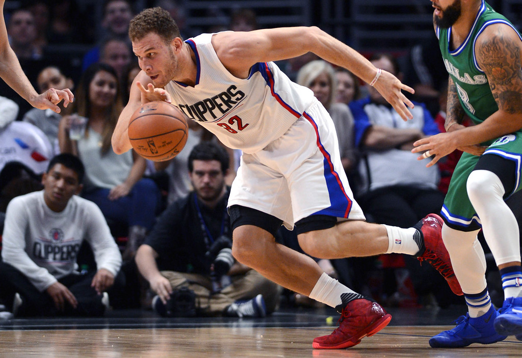. <b>35. Blake Griffin, 27, Clippers Forward</b> <br>Combining his $17.7 million salary and $7 million in endorsements, Griffin was the 10th highest paid basketball player in the world in 2015 ...   (Photo by Stephen Carr / Daily Breeze)