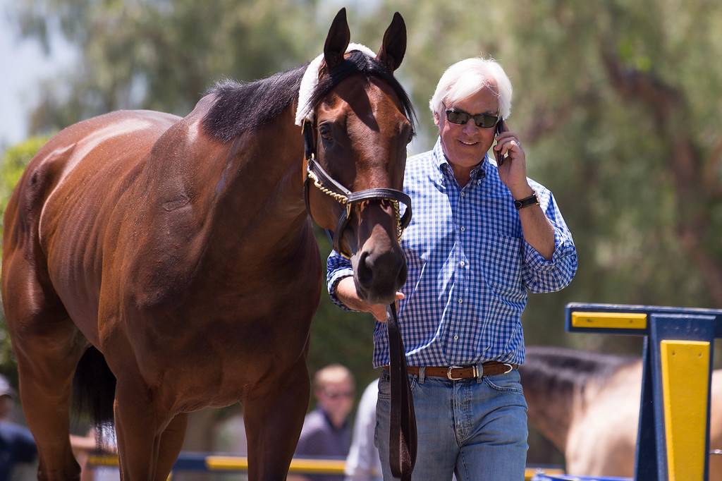 . <b>26. Bob Baffert, 63, Horse Trainer </b> <br>Before his horse won the first triple crown in 37 years, Baffert was already the most recognizable figure in U.S. horse racing ...  (Photo by Sarah Reingewirtz/Pasadena Star-News)