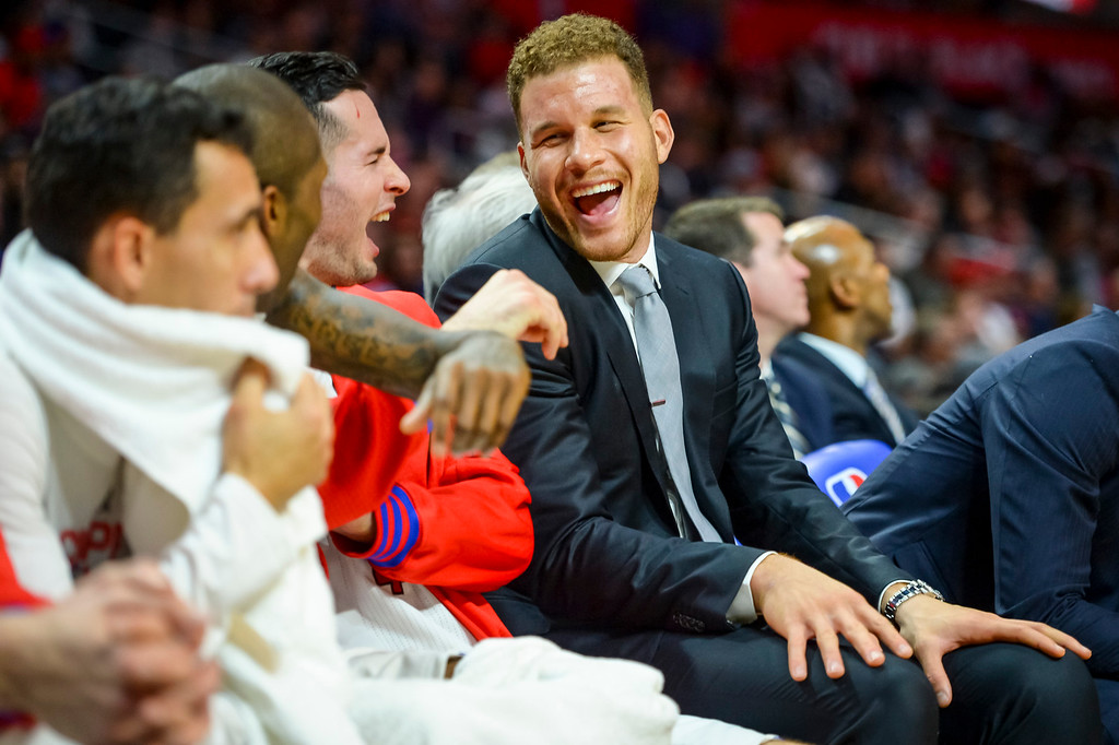 . ... Though the Clippers were very successful while Griffin missed 45 consecutive games this season, he is likely the most marketable basketball talent in L.A. now that Kobe Bryant has retired. (Photo by David Crane/Los Angeles News Group )