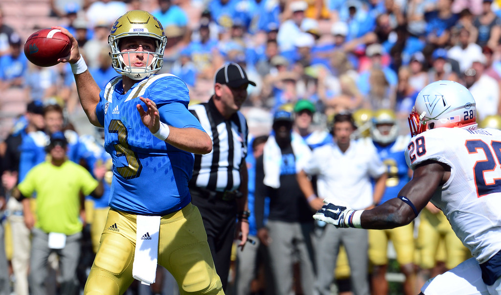 . <b>50. Josh Rosen, 19, UCLA Quarterback  </b> <br>Just one season into his college career, Rosen is lauded as the type of transcendent talent that could make him a top pick in the NFL draft ... (Photo by Keith Birmingham/ Pasadena Star-News)