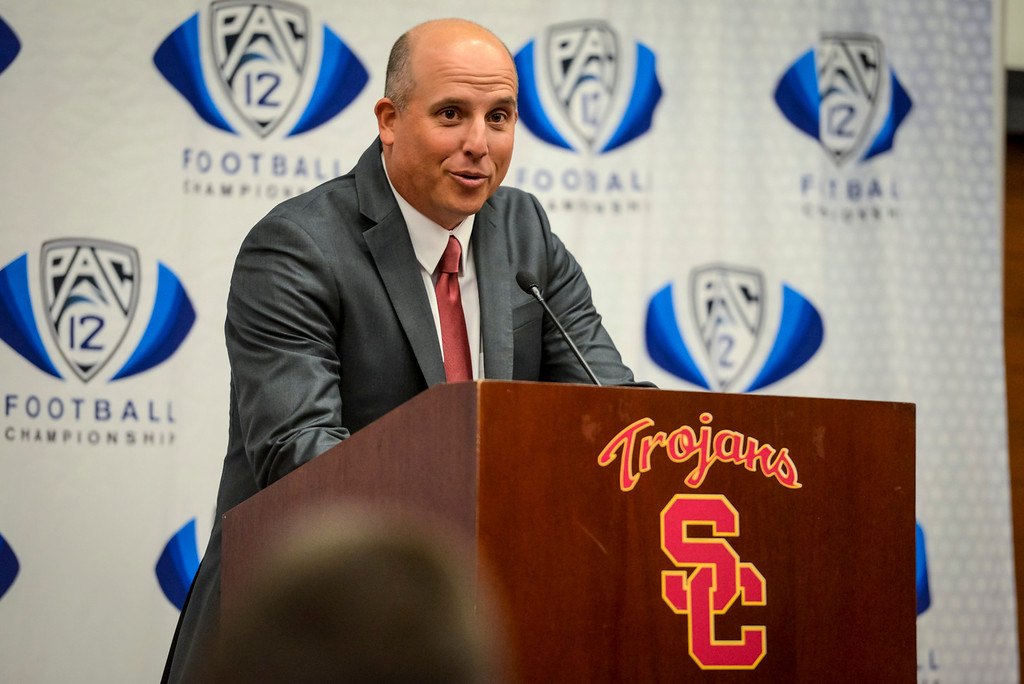 . ... Helton could vault the program back into the national championship hunt and remind the college football world why USC is one of the best coaching opportunities in the country. (Photo by David Crane/Los Angeles News Group )
