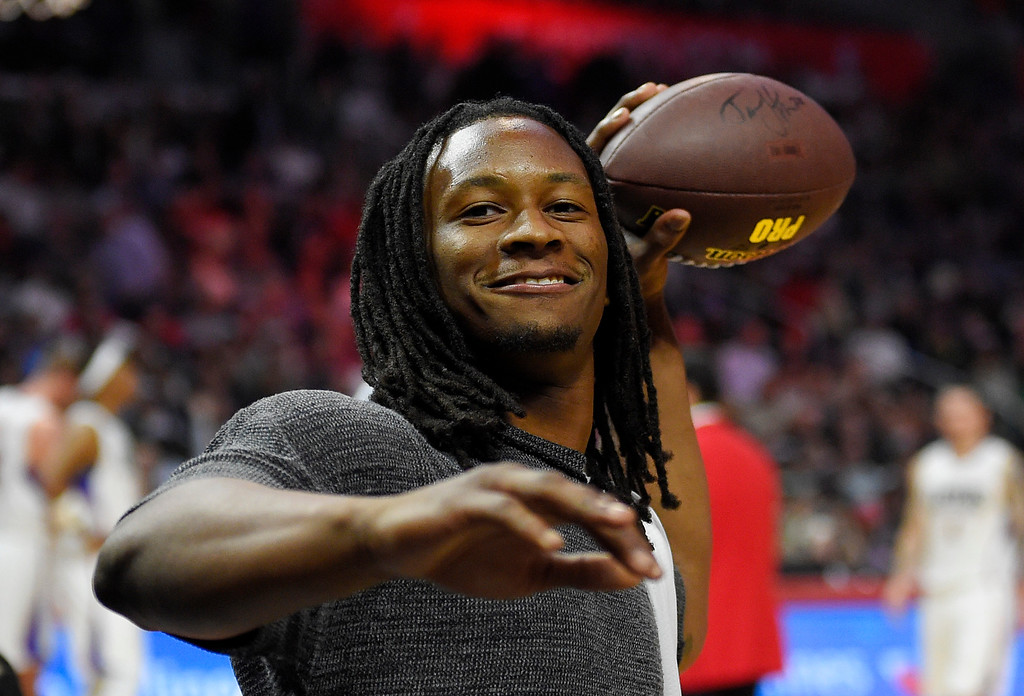 . ...  Despite the Rams� passing offense ranking 31st in the league, the team�s best young talent rushed for 1,100 yards on just 229 carries. (AP Photo/Mark J. Terrill)