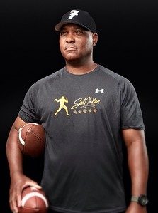 ... Despite the abundance of specialized coaches and trainers, Clarkson has evolved to remain at the top of the industry. His clients range from Ben Roethlisberger to players as young as 7 years old. (Photo courtesy of Steve Clarkson Dreammaker)