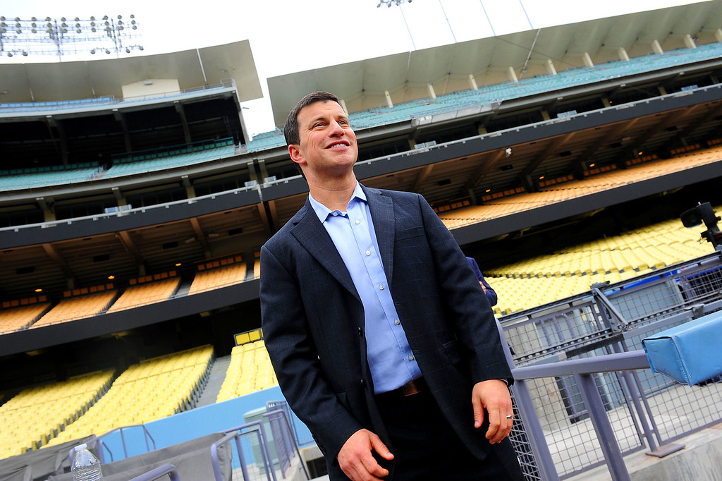 . ...  including two former GMs in addition to GM Farhan Zaidi. Less than two seasons into his tenure, the Dodgers are covered in Friedman�s fingerprints now that he has autonomy on personnel decisions. (Andy Holzman/Los Angeles Daily News)