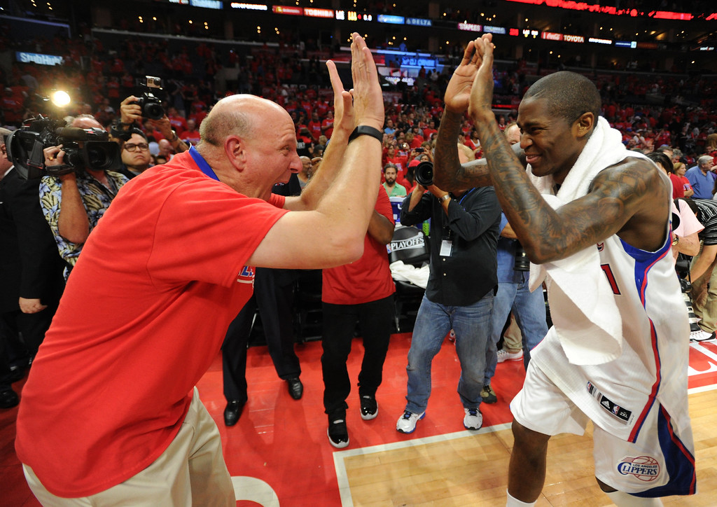 . ... The Clippers are riding the best four-year stretch in franchise history, but Ballmer faces the uphill battle of converting L.A. from a Lakers town. (Photo by John McCoy/Los Angeles Daily News)