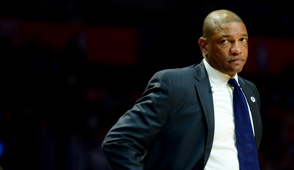 . ...  He played an integral role in the return of DeAndre Jordan this offseason, but Rivers� attempt to leapfrog the Warriors and Spurs to earn his second NBA championship is no easy task. (Photo by Keith Birmingham/ Pasadena Star-News)