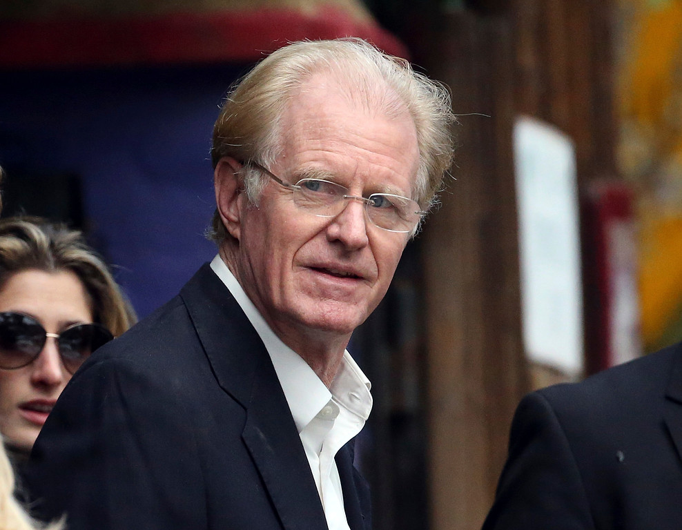 . Actor Ed Begley Jr. arrives at a memorial service at the homes of Debbie Reynolds and her daughter Carrie Fisher in Los Angeles Thursday, Jan. 5, 2017. Reynolds died Dec. 28 at the age of 84, a day after her daughter died at the age of 60. (AP Photo/Reed Saxon)