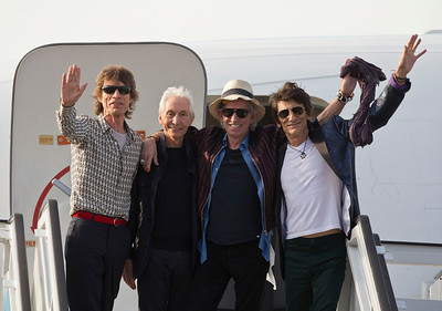 Cuba The Rolling Stones