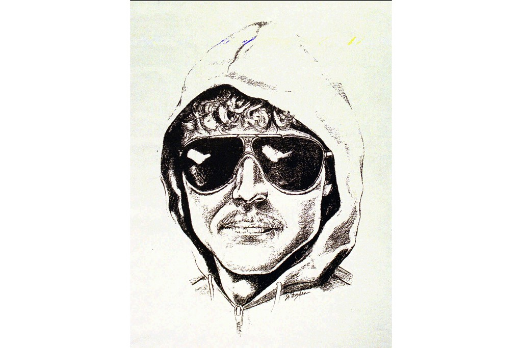 """. File - The FBI has released this sketch of the Unabomber, Tuesday, April 25, 1995, at the Federal Building in San Francisco where they held a news conference saying the Unabomber sent three letters and a bomb, from Oakland, Calif, which killed Gilbert B. Murray in Sacramento, Calif. Discovery�s \""""Manhunt: Unabomber\"""" series premieres tomorrow.  (AP Photo/ho)"""