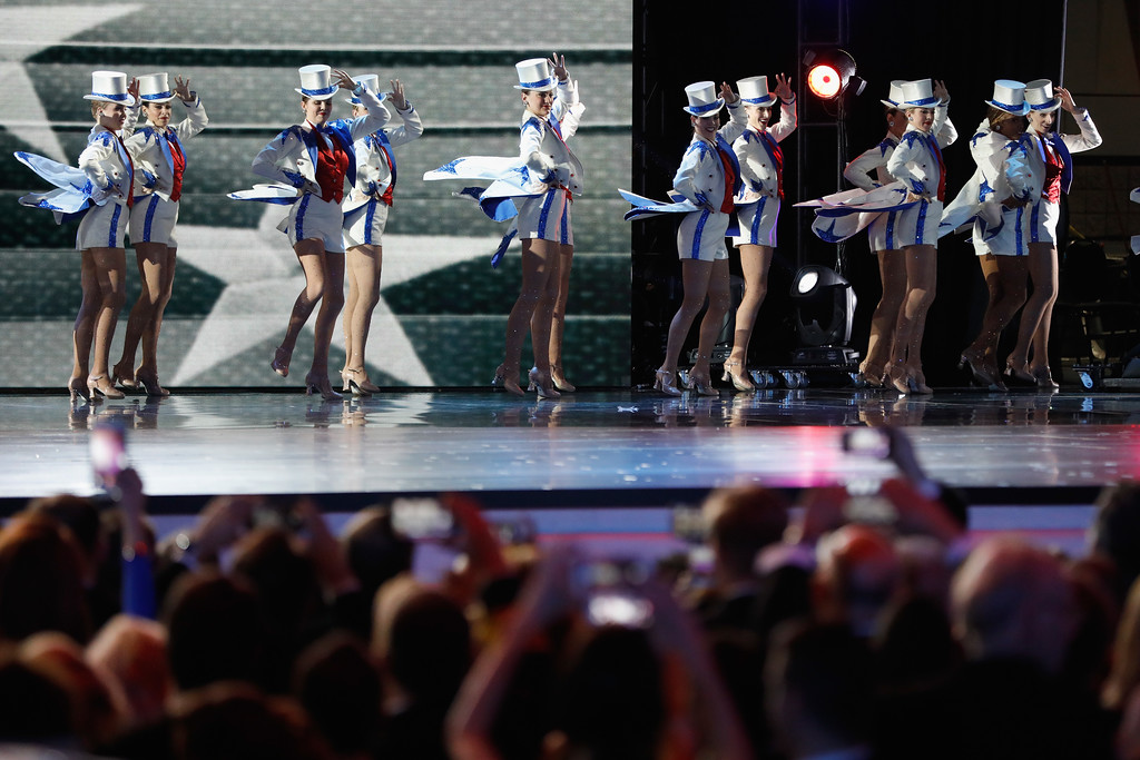 . WASHINGTON, DC - JANUARY 20:  The Rockettes perform at the Freedom Inaugural Ball at the Washington Convention Center January 20, 2017 in Washington, D.C.  President Trump was sworn today as the 45th U.S. President.  (Photo by Aaron P. Bernstein/Getty Images)