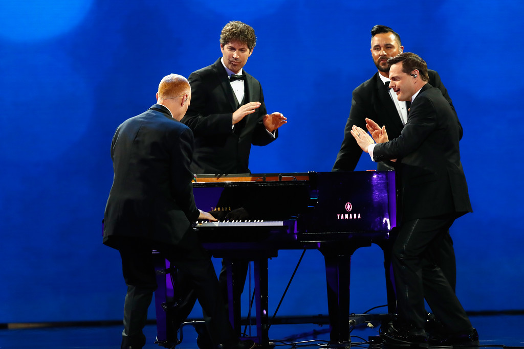 . WASHINGTON, DC - JANUARY 20:  The Piano Guys perform at the Freedom Inaugural Ball at the Washington Convention Center January 20, 2017 in Washington, D.C.  President Trump was sworn today as the 45th U.S. President.  (Photo by Aaron P. Bernstein/Getty Images)