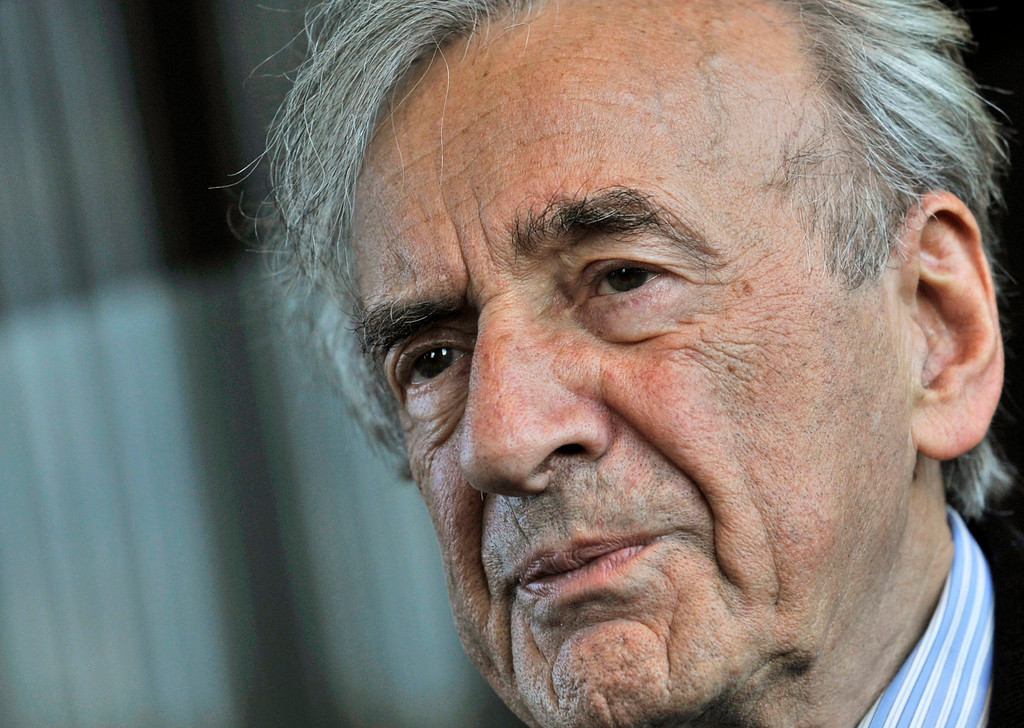 . FILE - In this Dec. 10, 2009 file photo, Elie Wiesel listens during an interview with The Associated Press in Budapest, Hungary.  Wiesel, the Nobel laureate and Holocaust survivor has died.  His death was announced Saturday, July 2, 2016  by Israel\'s Yad Vashem Holocaust Memorial. (AP Photo/Bela Szandelszky)