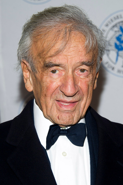 . Elie Wiesel attends The Elie Wiesel Foundation For Humanity\'s Arts for Humanity Gala on Wednesday, Oct. 17, 2012  in New York.  (Photo by Charles Sykes/Invision/AP)
