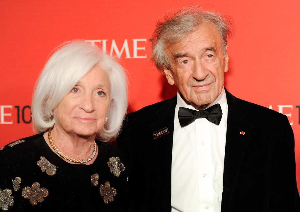 . Writer Elie Wiesel attends the TIME 100 gala, celebrating the 100 most influential people in the world, at the Frederick P. Rose Hall on Tuesday, April 24, 2012 in New York. (AP Photo/Evan Agostini)