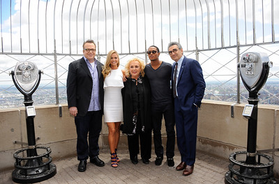 Tyler Perry's Madea's Witness Protection Cast At Empire State Building