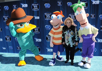 Premiere Phineas and Ferb Across The Second Dimension LA