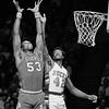 Bucks vs 76ers NBA Playoffs 1981