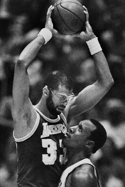 76ers vs Lakers NBA Champ 1982