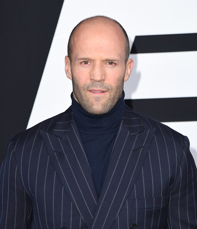 . Actor Jason Statham attends the premiere of Universal Pictures\' \'The Fate Of The Furious\' at Radio City Music Hall on April 8, 2017 in New York City. / AFP PHOTO / ANGELA WEISS        (Photo credit should read ANGELA WEISS/AFP/Getty Images)