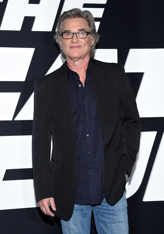 """. Kurt Russell attends the world premiere of Universal Pictures\' \""""The Fate of the Furious\"""" at Radio City Music Hall on Saturday, April 8, 2017, in New York. (Photo by Evan Agostini/Invision/AP)"""