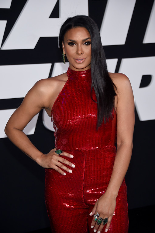 """. NEW YORK, NY - APRIL 08:  Laura Govan attends \""""The Fate Of The Furious\"""" New York Premiere at Radio City Music Hall on April 8, 2017 in New York City.  (Photo by Dimitrios Kambouris/Getty Images)"""