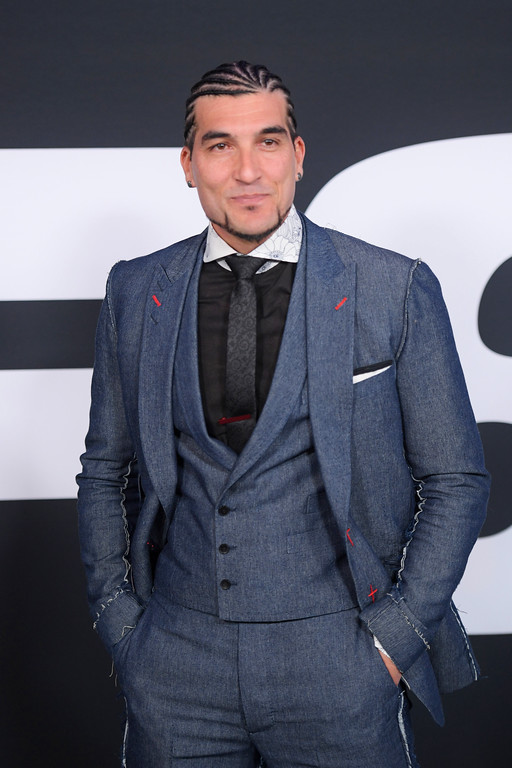 """. NEW YORK, NY - APRIL 08:  Soundtrack Artist José Manuel Pinto attends \""""The Fate Of The Furious\"""" New York Premiere at Radio City Music Hall on April 8, 2017 in New York City.  (Photo by Dimitrios Kambouris/Getty Images)"""