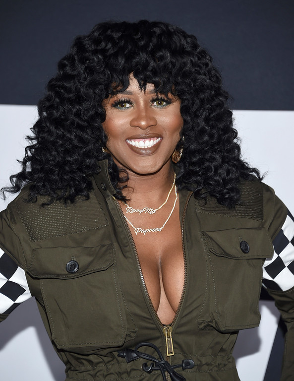 ". Remy Ma attends the world premiere of Universal Pictures\' ""The Fate of the Furious\"" at Radio City Music Hall on Saturday, April 8, 2017, in New York. (Photo by Evan Agostini/Invision/AP)"