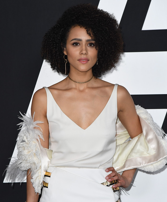 . Actor Nathalie Emmanuel attends the premiere of Universal Pictures\' \'The Fate Of The Furious\' at Radio City Music Hall on April 8, 2017 in New York City. / AFP PHOTO / ANGELA WEISS        (Photo credit should read ANGELA WEISS/AFP/Getty Images)
