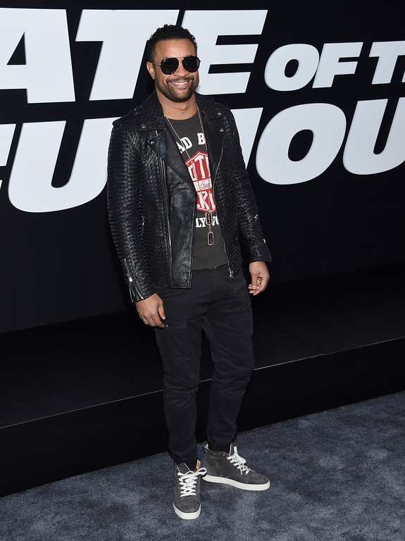 """. Shaggy attends the world premiere of Universal Pictures\' \""""The Fate of the Furious\"""" at Radio City Music Hall on Saturday, April 8, 2017, in New York. (Photo by Evan Agostini/Invision/AP)"""