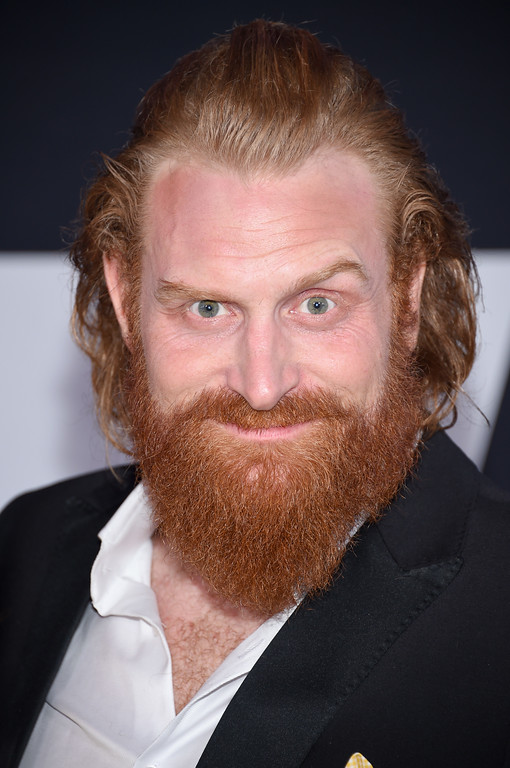 """. NEW YORK, NY - APRIL 08:  Actor Kristofer Hivju attends \""""The Fate Of The Furious\"""" New York Premiere at Radio City Music Hall on April 8, 2017 in New York City.  (Photo by Dimitrios Kambouris/Getty Images)"""