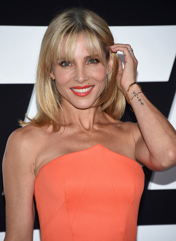 ". Elsa Pataky attends the world premiere of Universal Pictures\' ""The Fate of the Furious\"" at Radio City Music Hall on Saturday, April 8, 2017, in New York. (Photo by Evan Agostini/Invision/AP)"